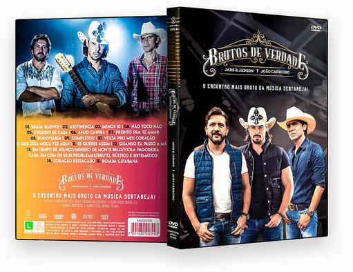 CAPA DVD – Brutos De Verdade Jads & Jadson & João Carreiro DVD-R