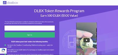اربح 500 دولار مجانية من عملة DLBX