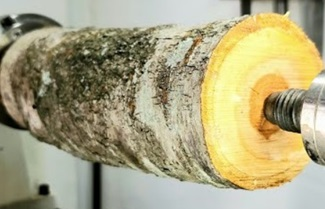 Woodturning – Cherry goblet!