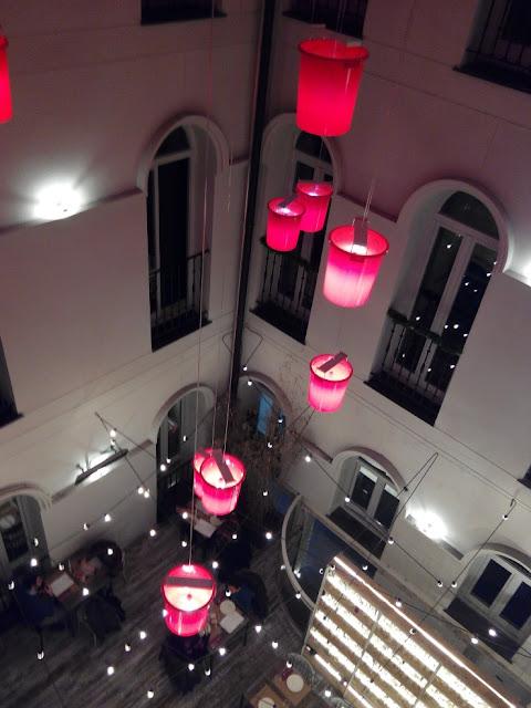 19.02.2016 #GASTRO. Saporem... Un patio de luces en el corazón de Madrid.