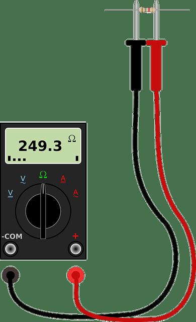 كيفية قياس المقاومة بالاوميتر