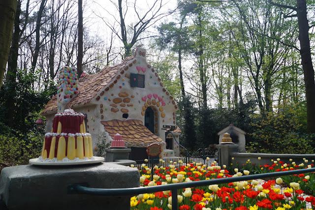 Hänsel und Gretel im Park Efteling