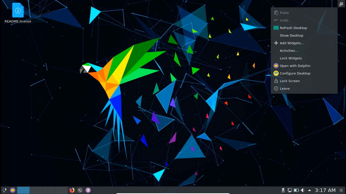Linux Parrot 4 6 Release With KDE Edition - The Ubuntu Maniac