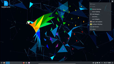 Linux Parrot 4.6 Release With KDE Edition