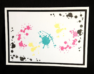 Visible Image Ink Splats Stamps