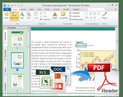 Wondershare PDF Editor 3.7.0.12 Free Download