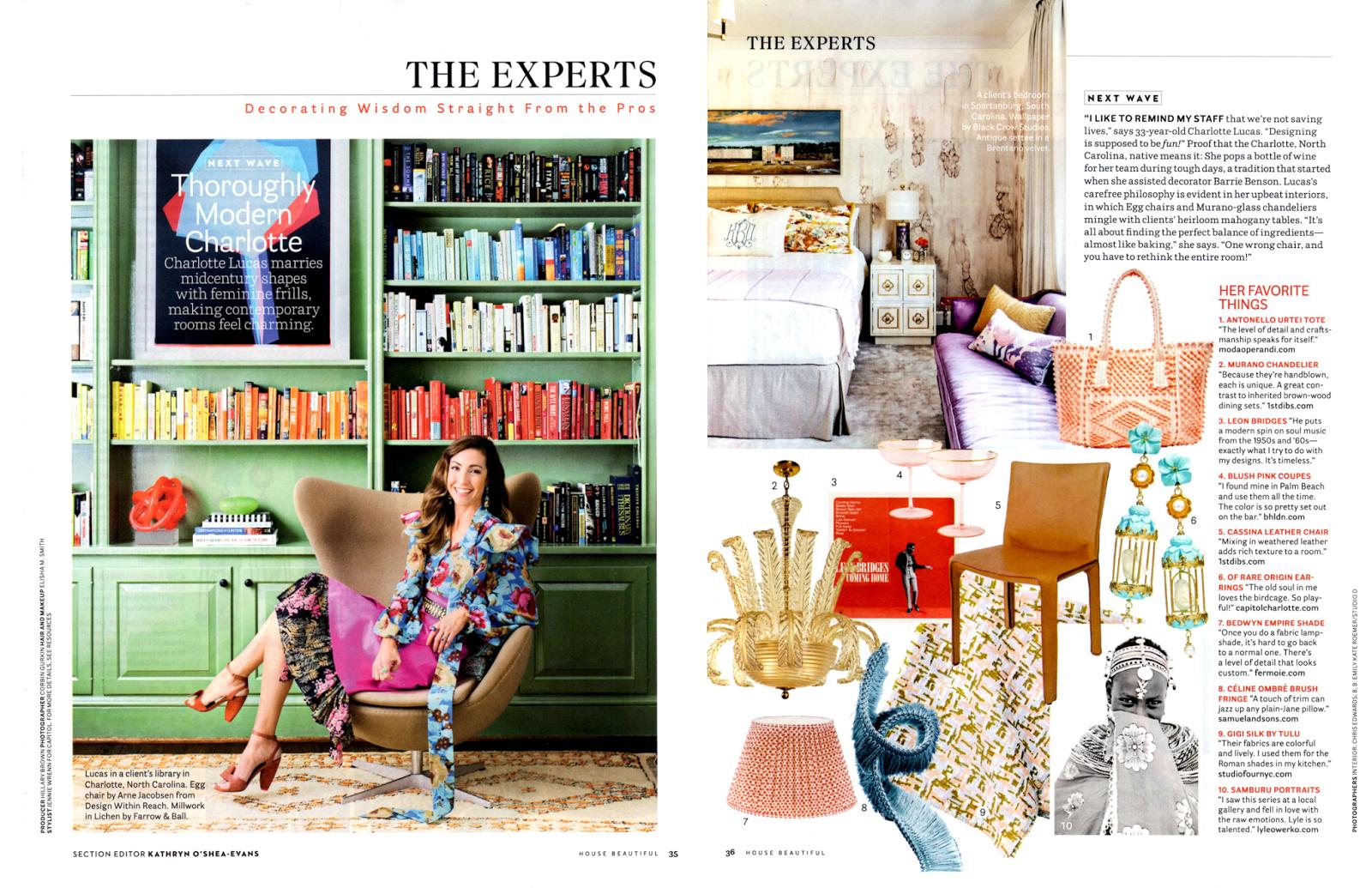 check out boho details in charlotte lucas design portfolio house