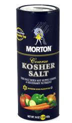 what does kosher salt mean just cancer the low iodine or iodine free diet 281