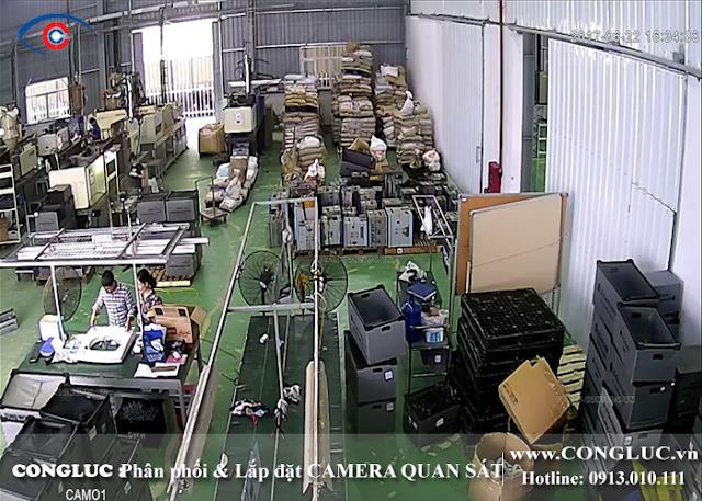 Lắp camera nhà xưởng tại Lê Chân