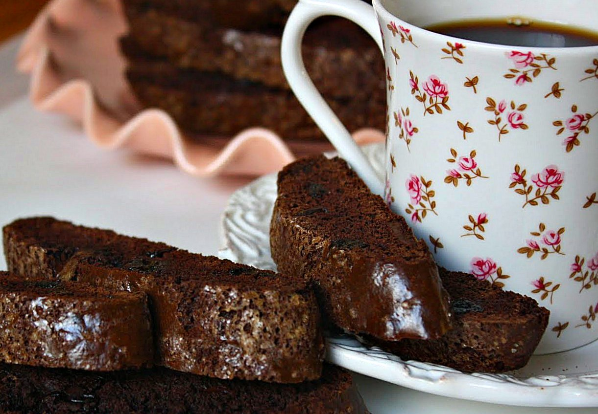 pictures Chocolate-Cherry Biscotti