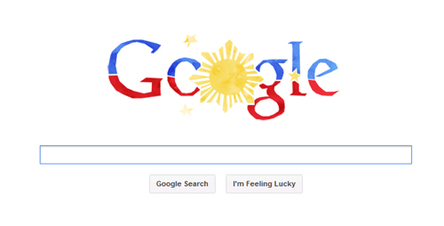 Google Doodle on Philippines Independence Day
