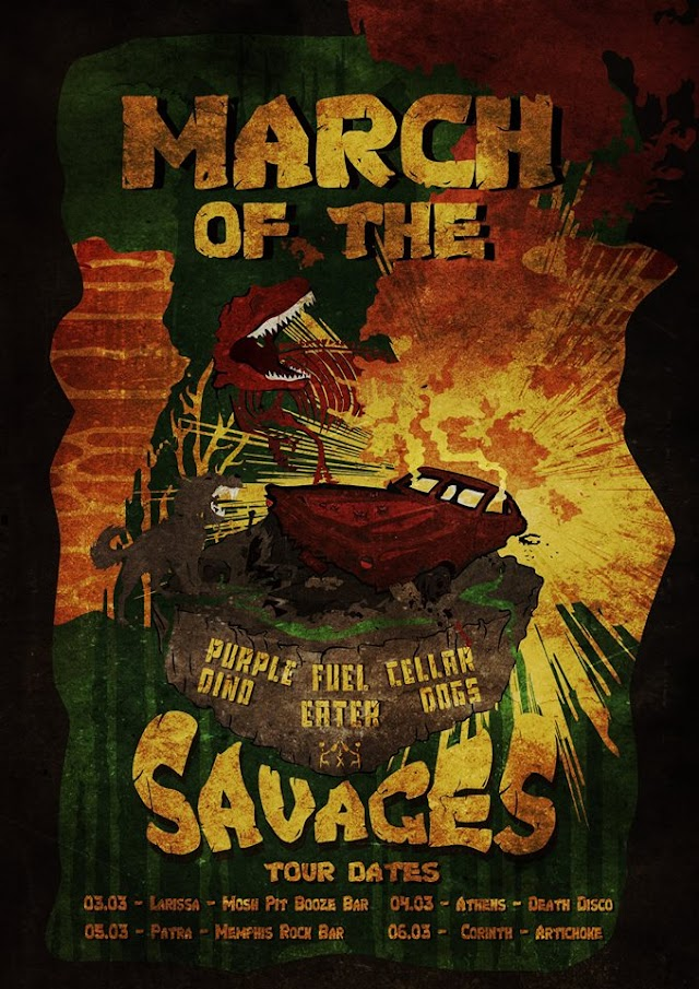 [News] 'March of the Savages' tour