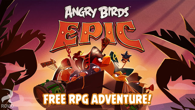 Download Angry Birds Epic RPG MOD Unlimited Apk GamePlay