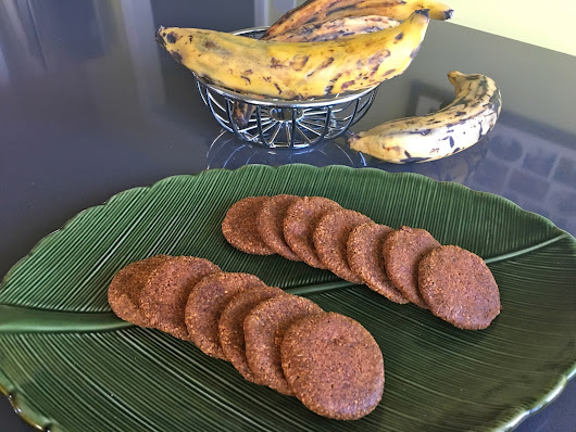 Ripe Plantain Cookies
