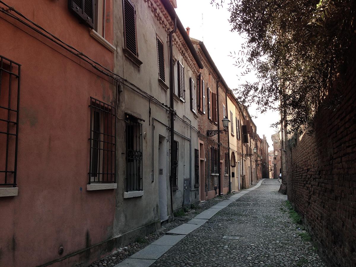 Via Colomba, Ferrara