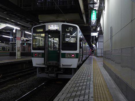 常磐線 浜吉田行き1 719系(2016.12廃止)