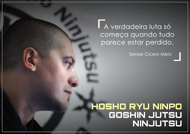 SENSEI CICERO MELO - HOSHO RYU NINPO