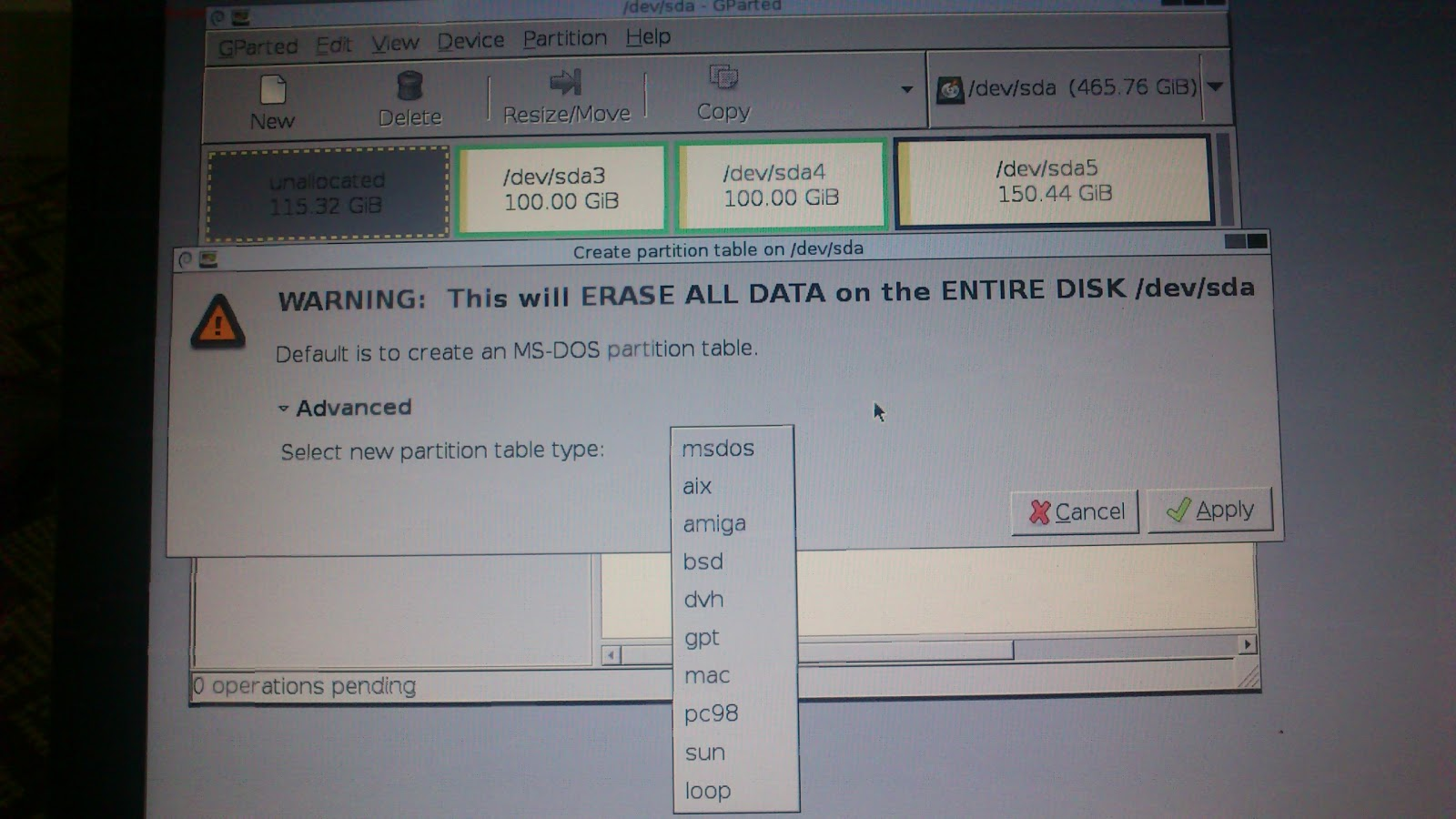 Ubuntu12 10 installer does not detect Drive Partitions | Each
