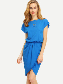 http://www.shein.com/Blue-Crew-Neck-Drawring-Wasit-Wrap-Front-Tulip-Dress-p-269279-cat-1727.html?aff_id=2687