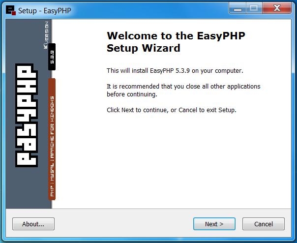 easyphp 3.4.9