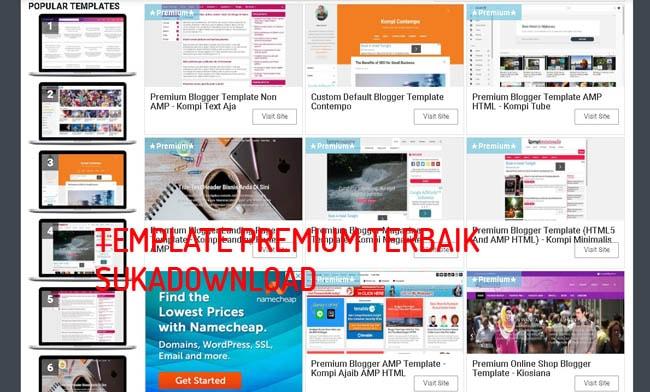 template blog terbaik 2020