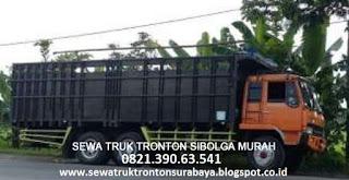 SEWA TRUK TRONTON SURABAYA SIBOLGA MURAH