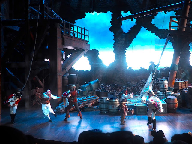 Captain Jack's Stunt Spectacular live show in Shanghai Disneyland, China
