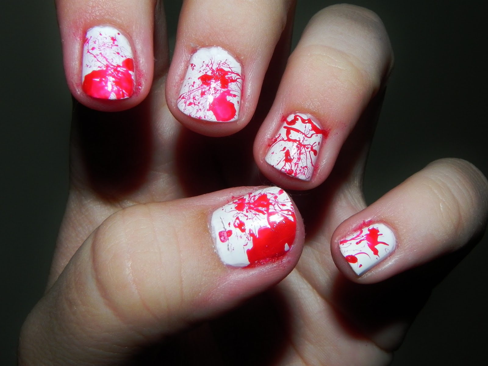 Bloody Nails - The Puzzle of Sandra's Life