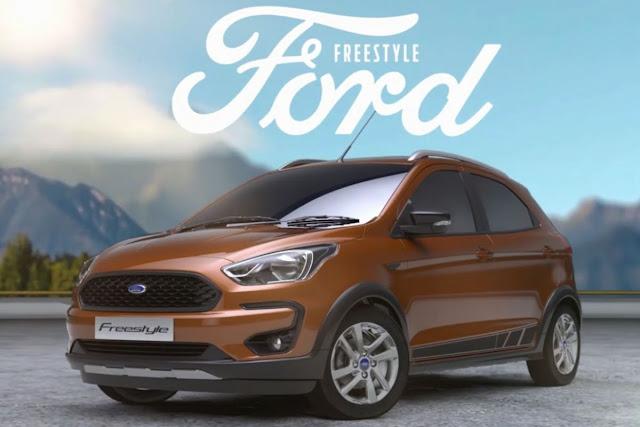 Novo Ford Ka Freestyle chega ao Brasil no segundo semestre de 2018