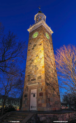 Wellesley Hills Isaac Sprague Memorial Tower