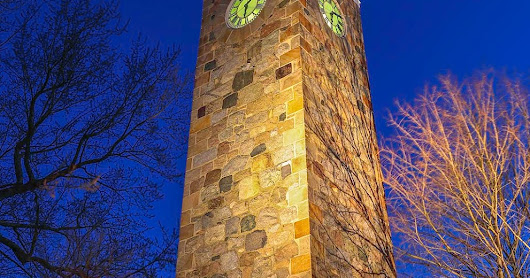 Story Behind the Photography Image of Wellesley Hills Isaac Sprague Memorial Tower.