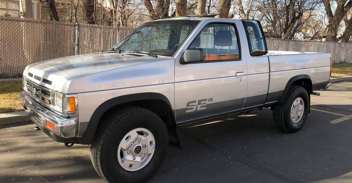 Daily Turismo: What's The Catch? 1991 Nissan D21 Hardbody ...