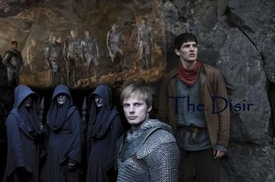 Kathy Prior 42: Merlin BBC fanfiction: What if Arthur