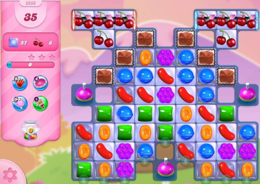 Candy Crush Saga level 2856
