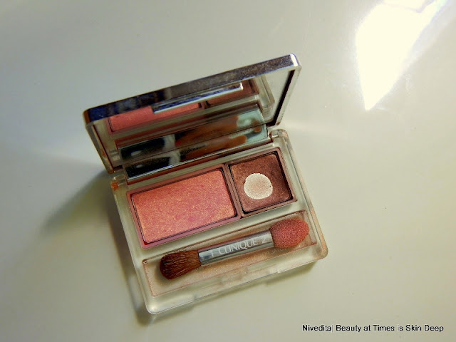 Clinique All About Eyes Eye shadow Duo review