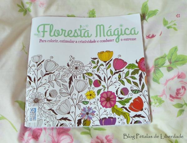 Resenha, livro, Floresta-Mágica, coquetel, livro-de-colorir, avon, formato-economico, diferença