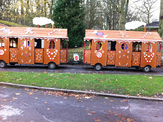 The Gingerbread Express - Christmas at Marwell