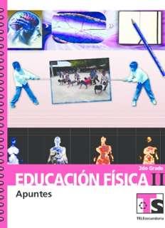 Educación Física II Segundo grado Telesecundaria Ciclo Escolar 2015-2016