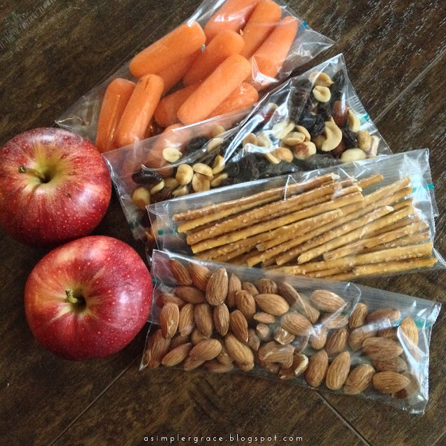 Healthy Snacks for a Busy Holiday Season - A Simpler Grace