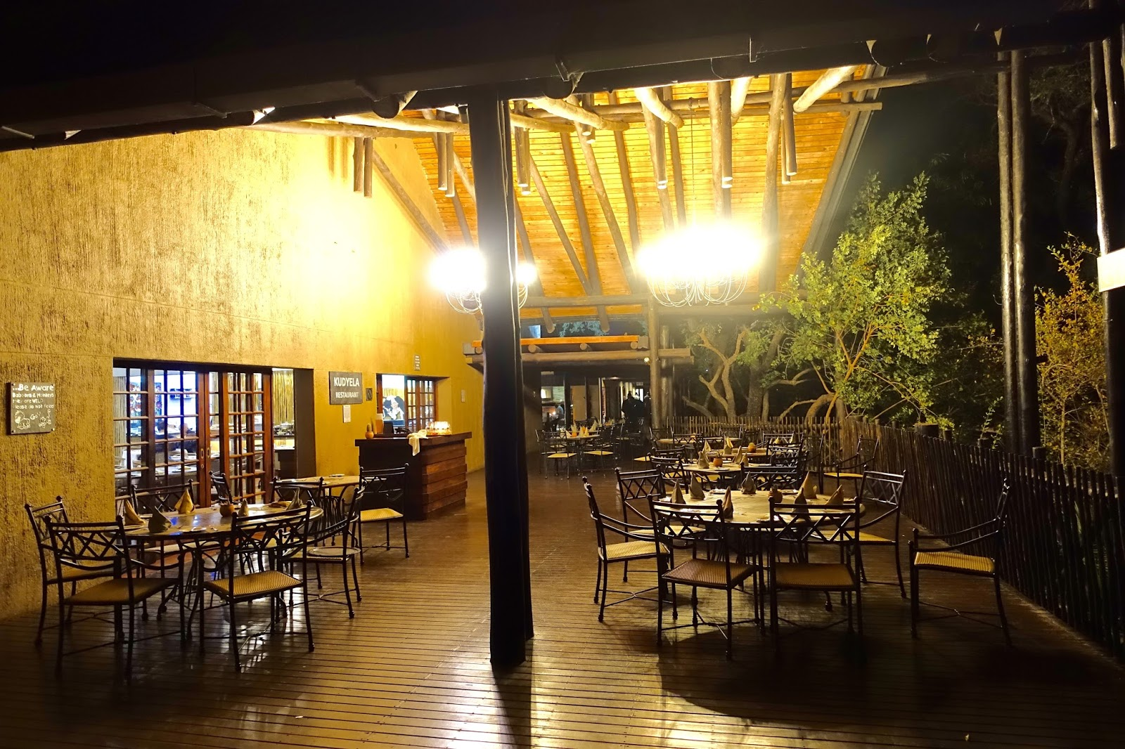 south africa travel outdoor dining