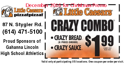 Little caesars coupons canada 2018