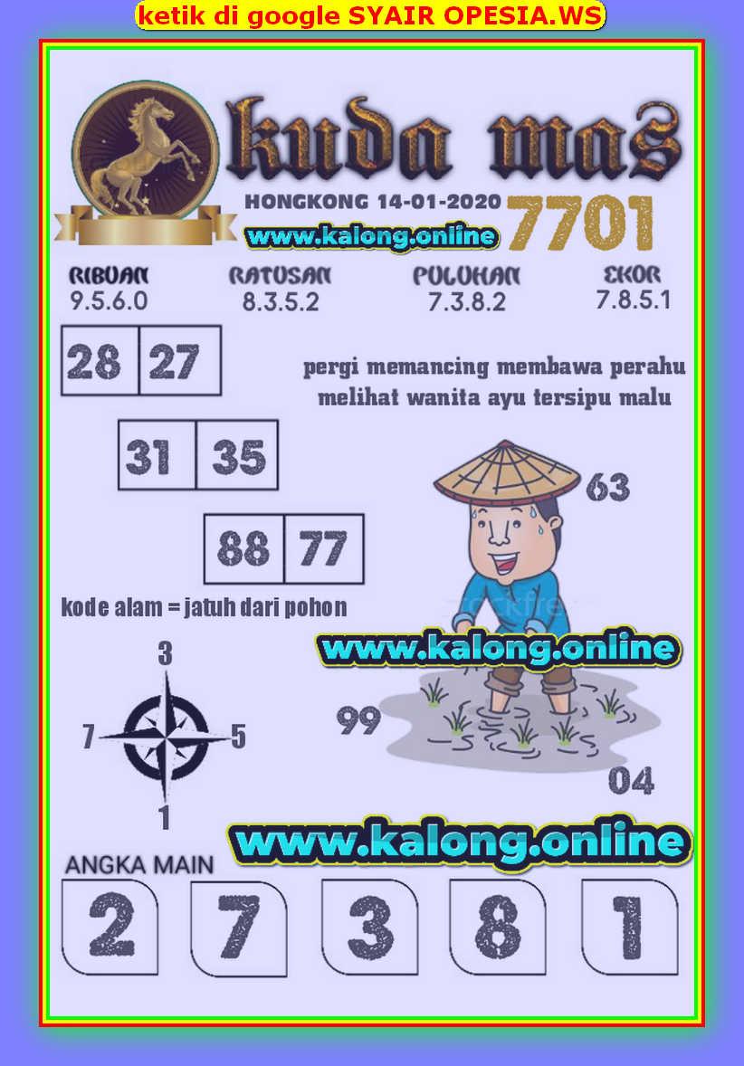 Kode syair Hongkong Selasa 14 Januari 2020 132
