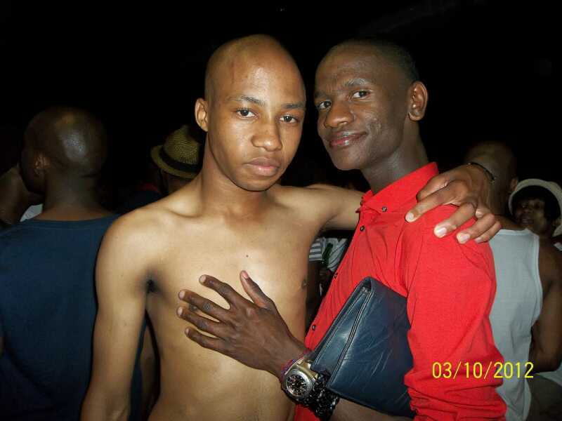 Gay african