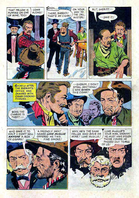 Gunsmoke v2 #12 golden silver age comic book page art by Al Williamson