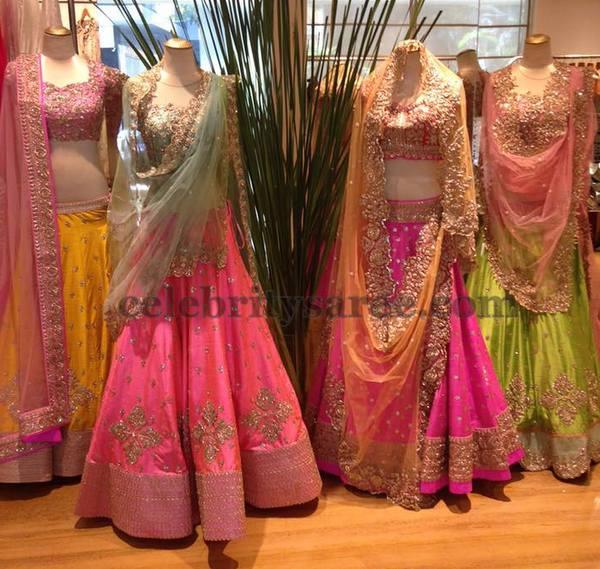 Ashwini Reddy Designer Lehengas
