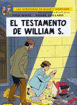 El testamento de William S. de Sente y Juillard - Aventuras de Blake y Mortimer