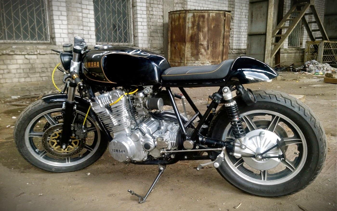 yamaha xs 750 triple cafe racer | 99garage | cafe racers customs