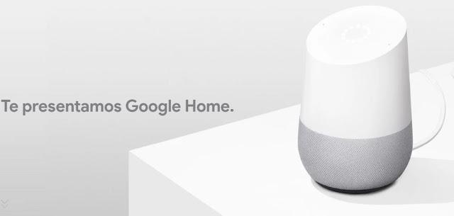 las bocinas inteligentes de google llegan a mexiico