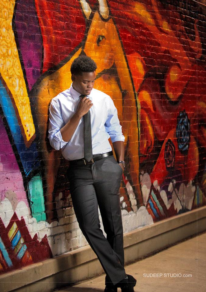 Best Poses Graffiti Guys Senior Picture - Sudeep Studio Ann Arbor Senior Pictures Photographer
