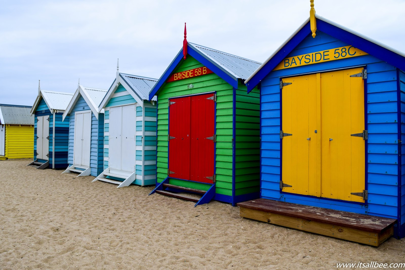 How To Get To Brighton Beach Melbourne's Bathing Boxes Beach By Train #itsallbee #australia #traveltips #beaches #ocean #vacation #takemethere #beachlife